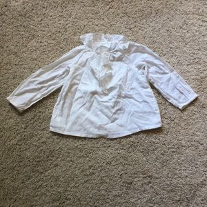 Baby Gap white blouse, size 18-24 months